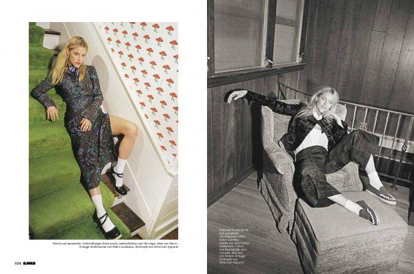 David SHAMA for German Glamour