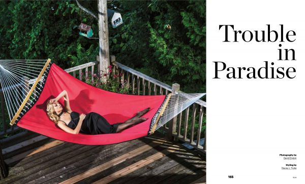 Commission: New Fashion Editorial by David DREBIN