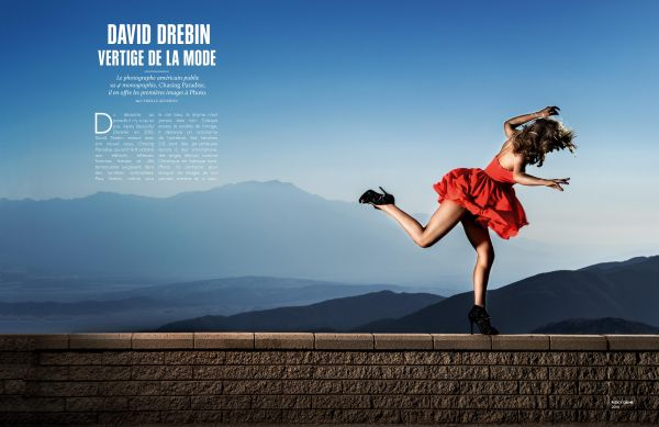 David DREBIN Featured in French PHOTO