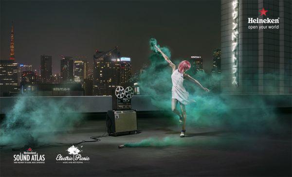 "HEINEKEN ""Open Your World"" Campaign by NICK & CHLOE"