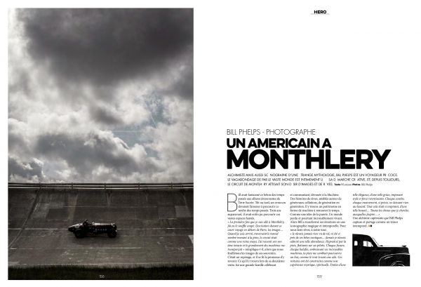 MONTLHERY for Premier issue of Auto Heroes  by Bill PHELPS