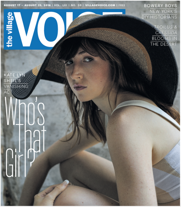 Bill PHELPS Shoots Kate Lyn Sheil  for the Village Voice