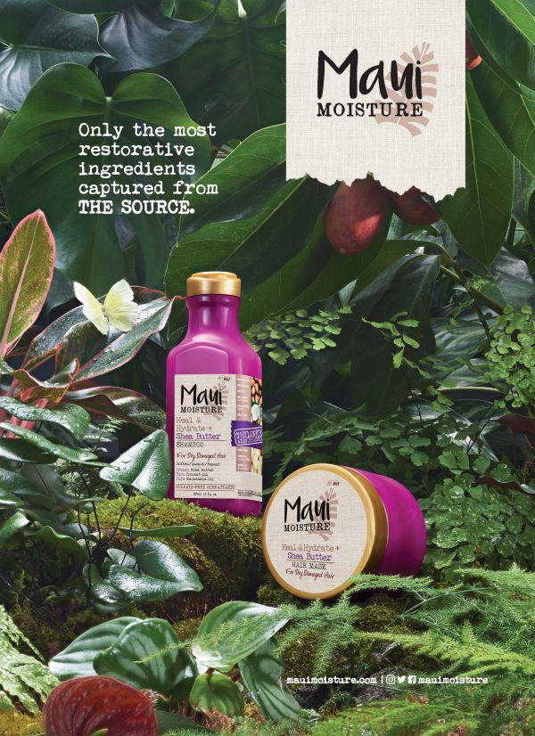 Claire Benoist for J&J Maui Moisture