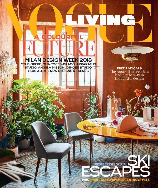 Paul Barbera for Vogue Living: Milan Design Week