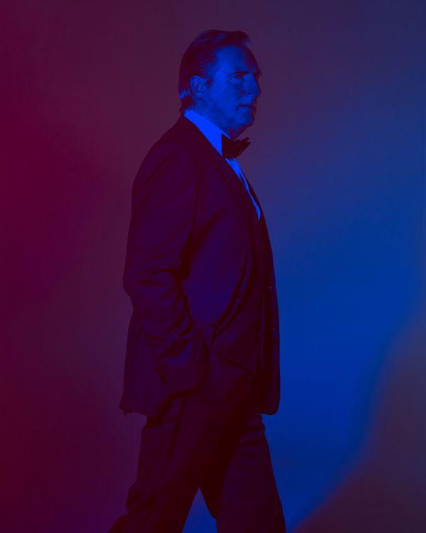 Adrian Dunbar for GQ shot by Mads Perch