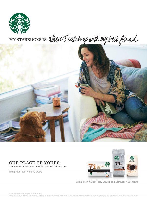 Paul BARBERA for Starbucks