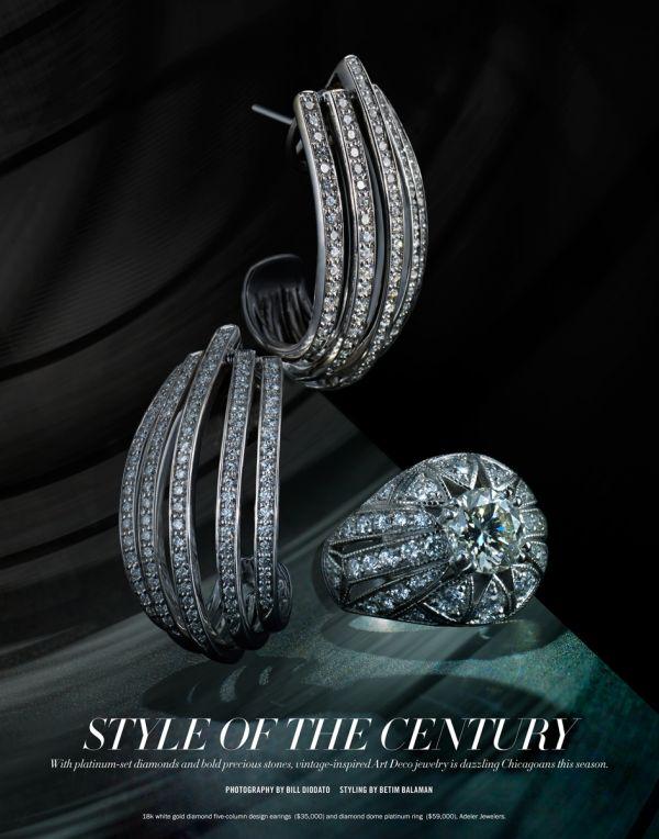 bill DIODATO ART DECO Jewelry for Niche Media