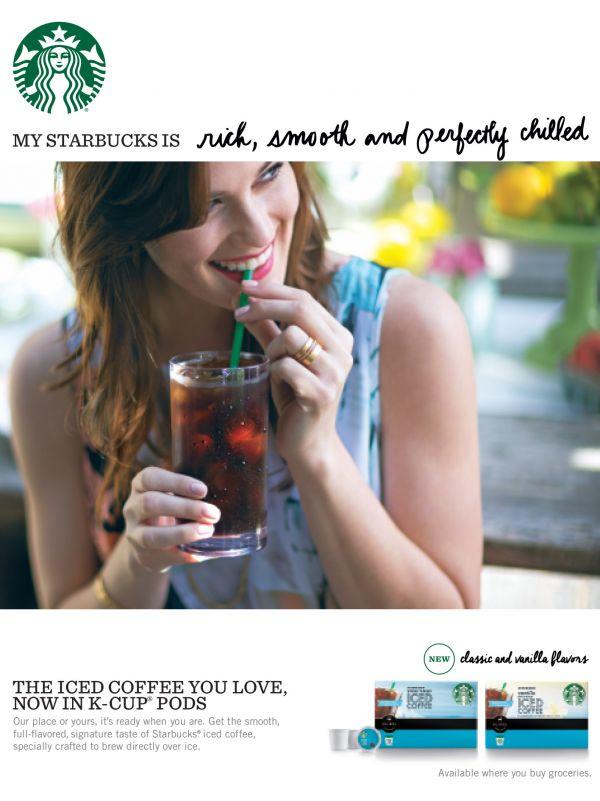Commission: Paul BARBERA Starbucks Iced Coffee