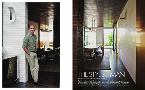 Commission: Paul BARBERA for ELLE DECOR
