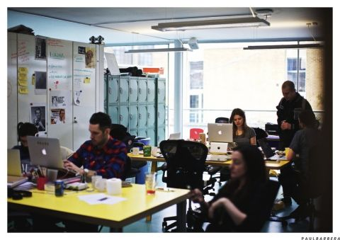 Where They Create- Wieden + Kennedy London