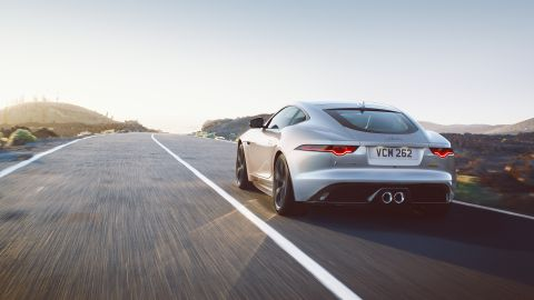 Jaguar F- Type- Coupe