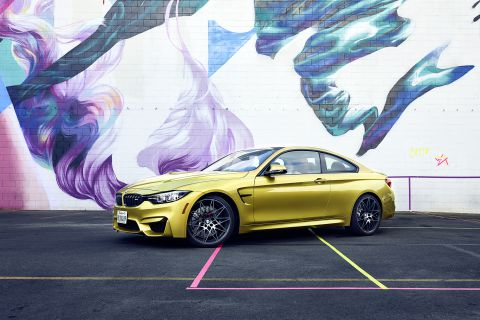 BMW M4 Urban Tennis LA